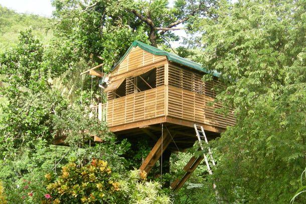 Une cabane dans les arbres - Martinique
