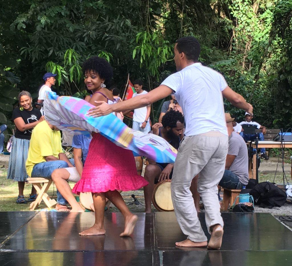 Démonstration de bèlè - Martinique